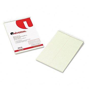Universal® Steno Books BOOK,STENO,GREGG,60SH,GN 57195 (Pack of100) by UNVSL