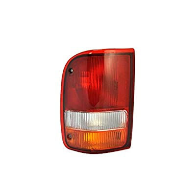 Driver Side Tail Light Lamp for 1993-1997 Ford Ranger FO2800110 F37Z13405A: Automotive