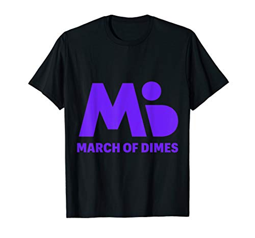 (MARCH OF DIMES USA .T-SHIRT)