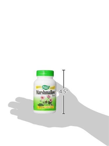 Nature's Way Premium Herbal Marshmallow Root, 960 mg per serving, 100 Capsules
