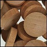 WIDGETCO 1'' Cherry Wood Plugs, End Grain