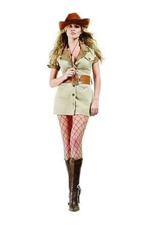 Safari - Camel Dress, Belt and Hat Costume