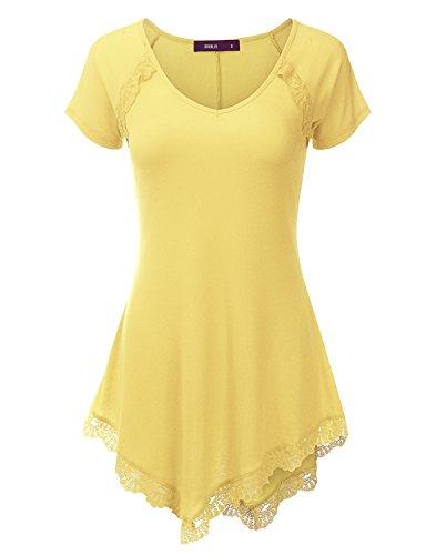 Doublju Asymmetrical Tunic Dress Women product image