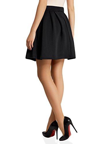 oodji Noir Ultra 2900n Jupe Femme Maille vase SSwvqr