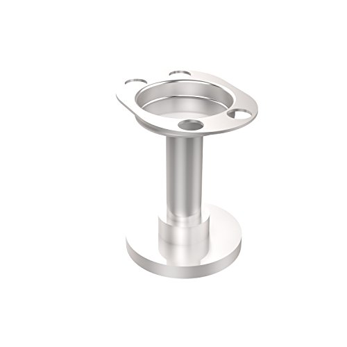 Allied Brass 955-SCH Vanity Top Tumbler and Toothbrush Holder Satin Chrome