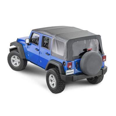 MasterTop 15101935 2010-2018 JKU 4 Door Jeep Soft Tops
