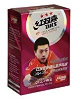 DHS 3* TT-Bälle cellfree (ohne Zelluloid) 6er Pack