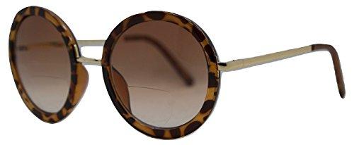 In Style Eyes Vintage Round Bifocal Sunglasses Tortoise - Bifocal Round Glasses