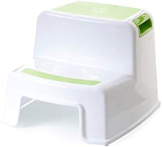 Wondrous Amazon Com Bfqy Fh Plastic Step Stool Double Step Foot Inzonedesignstudio Interior Chair Design Inzonedesignstudiocom