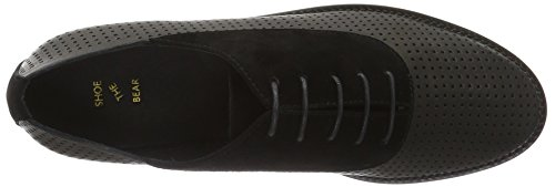 110 Kiko Mujer Black Negro Shoe Bear Oxford Zapatos The awqWfx0U
