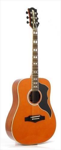 Eko Ranger 6 VR Vintage Reissue espejo Natural Guitarra Acústica ...