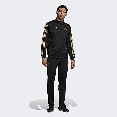 adidas Real PES Suit Chándal, Hombre, Negro/Orfúos, S: Amazon.es ...