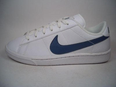 Nike tenis Classic Leather 312803 – 144 Blanco de color azul tamaño euro 38/US 5,5Y/UK 5/24 cm