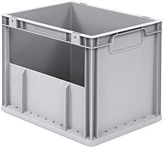 AidB Eurobox NextGen Insight lateral abierto, 400 x 300 x 320 mm ...