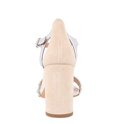 p Nude Roberto Couleur Taille Botella sandale p Combiné Cuir En 36 ZYrZwx