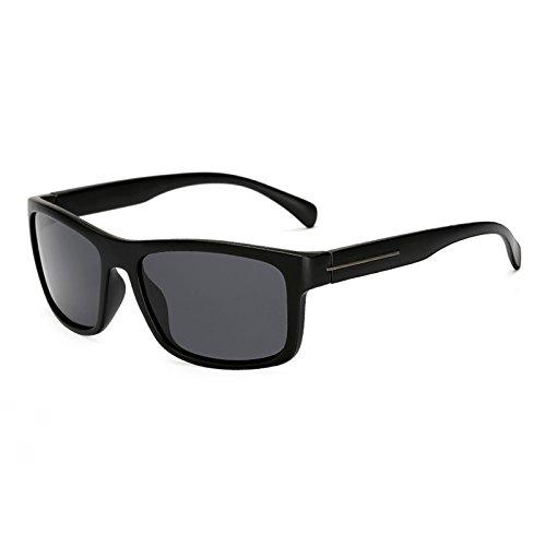 Gafas de C4 Sol Grandes Gran de KP1824 Sol polarizadas Gafas de Hombre Mujer Sunglasses para Square C1 Tamaño Gafas Negro de Hombres TL Polaroid KP1824 de Sol xwS8RCBnqO
