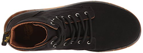 Dr. Martens Combs, Stivaletti Unisex – Adulto Nero (Black Canvas)