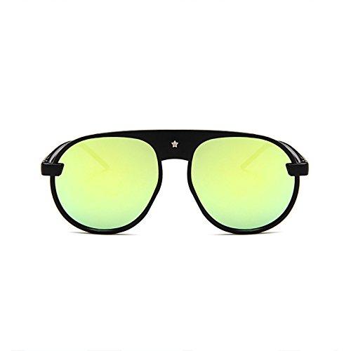 Mujer Sol de Gafas Llegada Espejo ZHANGYUSEN de Gafas Ronda para Oval 2018 diseñador Damas E Nueva de Sol Lujo Un Marca w7Y7xqXOA