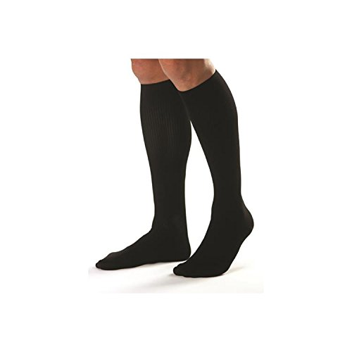 Jobst For Men 20-30 Knee-Hi Black Medium (pair) by JOBST