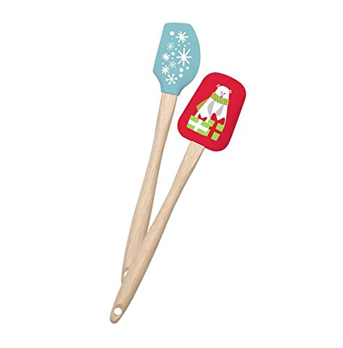 (Sweet Creations Mini Holiday Spatulas (Set of 2), Assorted)