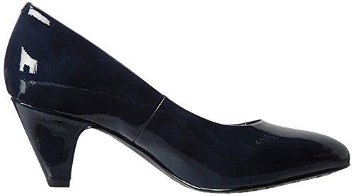 22416 Navy Tamaris Tacón de Mujer Zapatos Patent Azul para Hwwqpfd