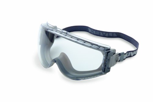 Uvex Stealth Safety Goggles with Uvextreme Anti-Fog Coating (S3960CI)
