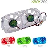 New XBOX360 Talismoon Whisper Fan Blue Cools Down Xbox 360 Internal Components Effectively