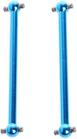R Dogbone nel Metallo A959-07 per A949 A959 A969 K929 Himoto E18 Spino HSP 1:18 RC Car Vaorwne 4 Pezzi per WLtoys A979 Aggiornamento Parti F