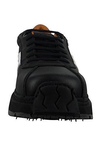 Libertad Tipo - Zapatos de cordones rer Libertad 0202 Moka Cuero Marrón Black White