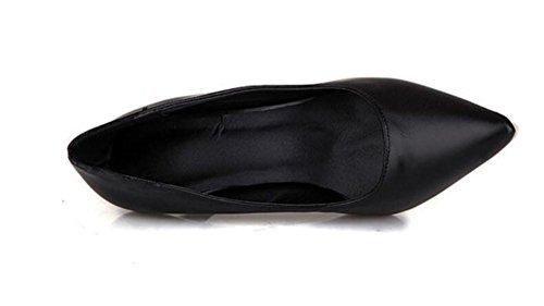 Mujer Corte Finos Bombea del Caramelo 37 la Estilete El 37 Dedo BLACK los de del Zapatos XIE Colores pie los del Los Calzan para Elegantes Zapatos ZtqwxnY7RT