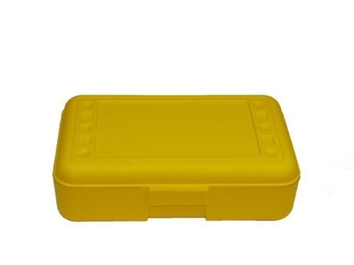 Price comparison product image Romanoff Pencil Box, Yellow