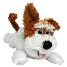 Chuckle Buddies Motion Activated Rolling Laughing Dog Puppy, Pet - Roll Stuffed Toy