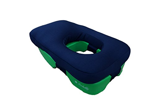 Ergolounger Face Down Comfort Pillow (Navy)