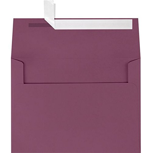 A9 Invitation Envelopes (5 3/4 x 8 3/4) - Vintage Plum Purple (50 Qty.)