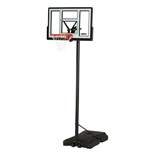 Lifetime 90782 Fusion Courtside Portable Basketball System, 46