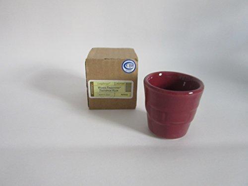- Longaberger Toothpick Holder Paprika Pottery