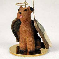 Christmas Ornament: Airedale Terrier
