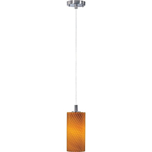 Carte Satin (ET2 Lighting Carte 1 Light Pendant, Satin Nickel - E91051-14SN ,,__#shop_freely)