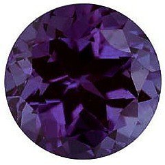 Round Shape Chatham Alexandrite High Quality Gemstone Grade GEM, 6.50 mm in Size ()
