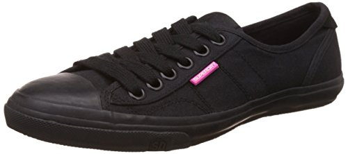 Superdry Low Pro Chaussure Femme Noir Taille OfEwoe
