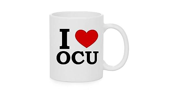 I taza del corazón OCU (amor): Amazon.es: Hogar