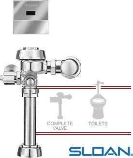 SLOAN 3450065 Exposed Sensor Operated Flushometer