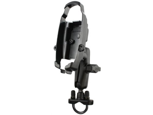 (RAM Mounting Systems RAM-B-149Z-MA3U Handlebar Mount for Magellan ATV, Outdoor, Sportrak, Map, Marine, Pro, Color, and Topo)