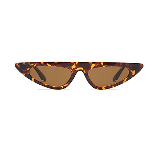 Huicai Leopardo pequeño estilo de de gato sol moda de de marco de de estilo ojo de sol diseñador de vintage Gafas Gafas Patrón de Estilo gxwXrZUqgn