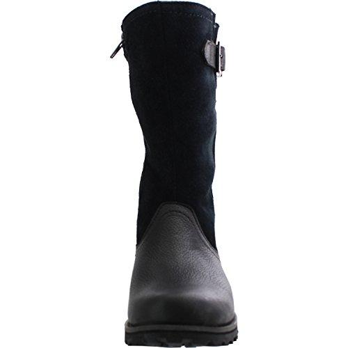 Boots Timberland High Leather Briarcliff Trail Black Black Asphalt Knee Junior 8w87qZ