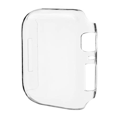 (Coobes Compatible with Apple Watch 4 Case 44mm 40mm, Clear PC Hard Full Cover Screen Protector Slim Anti-Scratch Shockproof Snap-On Bumper Compatible iWatch Series 4 (Clear, 40mm) )