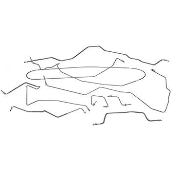 Image of Dorman 919-236 Brake Hydraulic Line Kit for Select Jeep Models (OE FIX) Brake Lines