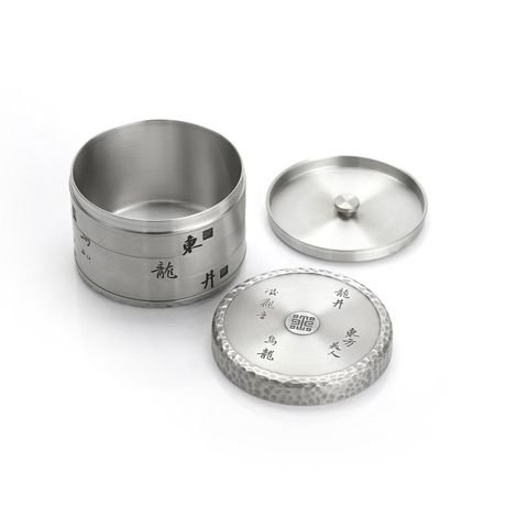 Royal Selangor Hand Finished The Imperial Collection Collection Pewter Mo Airtight Tea / Coffee Caddy by Royal Selangor