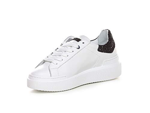 Ckld nero Sneaker Ed Sq11 Bianco Donna Scarpe Parrish xInvq0