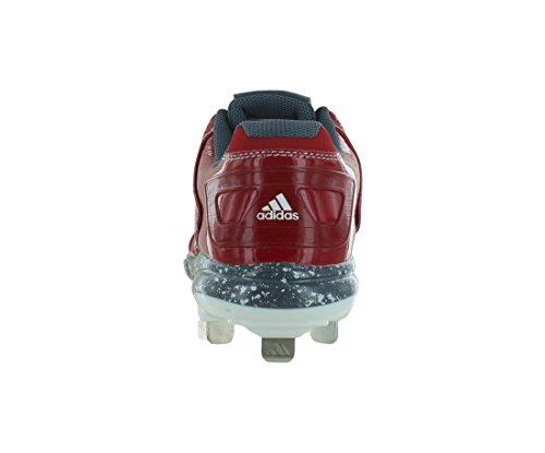 adidas Performance Damen PowerAlley 2 W Softball Cleat rot
